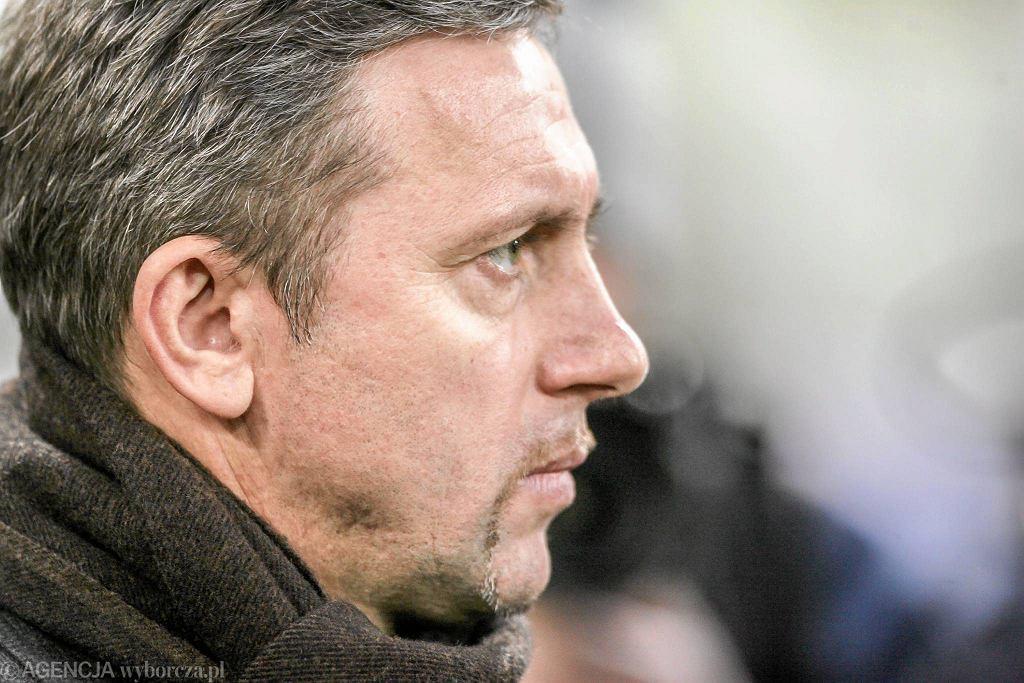 Trener Lechii Jerzy Brzęczek