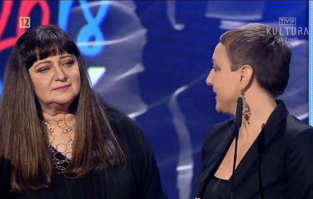Basia Trzetrzelewska i Katarzyna Wodecka-Stubbs