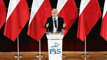 """""""Trwa rebelia"""" przeciw rządom PiS - Jarosław Kaczyński podczas wystąpienia z okazji rocznicy wyborów 4 czerwca"""