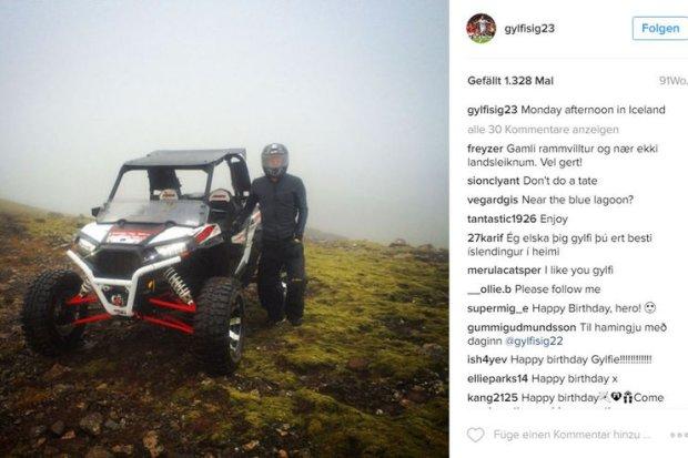 Gylfi Sigurdsson Instagram