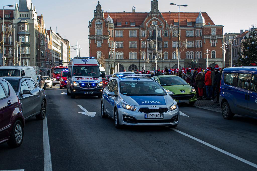 Akcja policji 'Tworzymy korytarz życia - pamiętamy o Świętym Mikołaju'