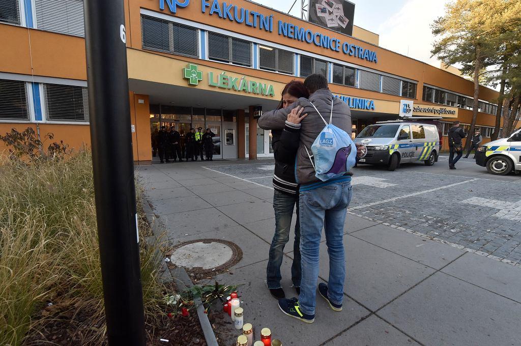 APTOPIX Czech Hospital Shooting