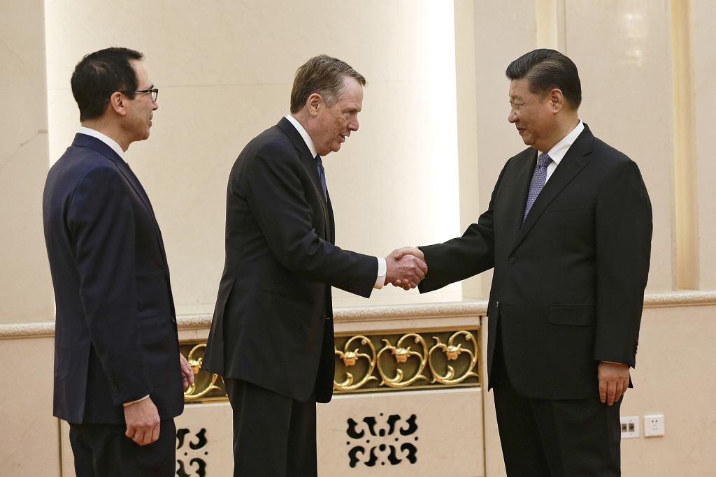 Robert Lighthizer, Steven Mnuchin, Xi Jinping