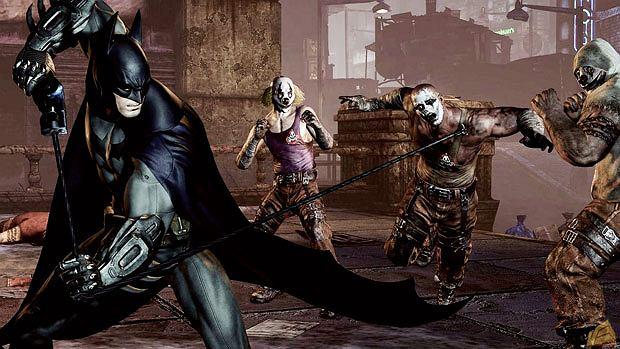 top 10, gry, Top 10 filmowo-growych strzałów, Batman: Arkham City