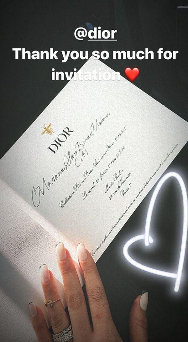 Sara Boruc - pokaz Diora