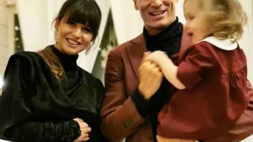 Anna, Robert i Klara Lewandowscy