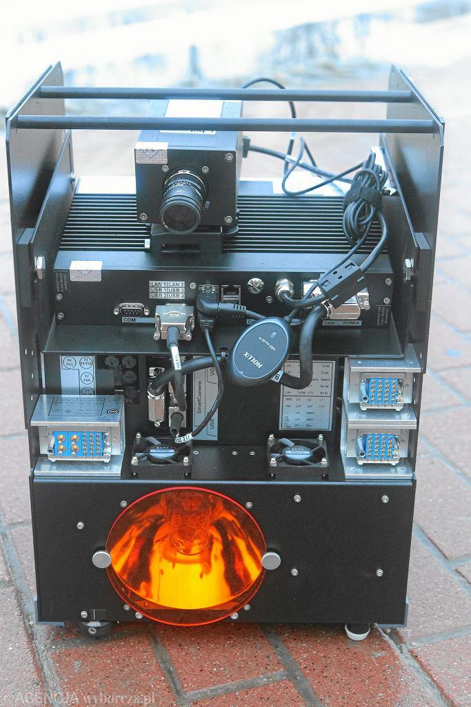 !Instalacja fotoradaru w Warszawie
