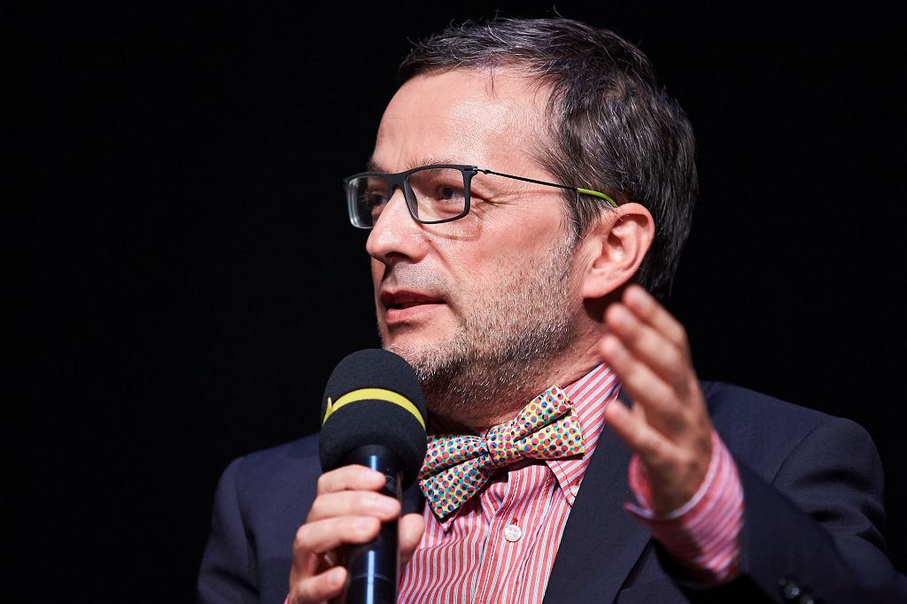 Jan Wróbel, scenarzysta filmu 'Habit i zbroja' (fot. Jan Rusek / Agencja Gazeta)