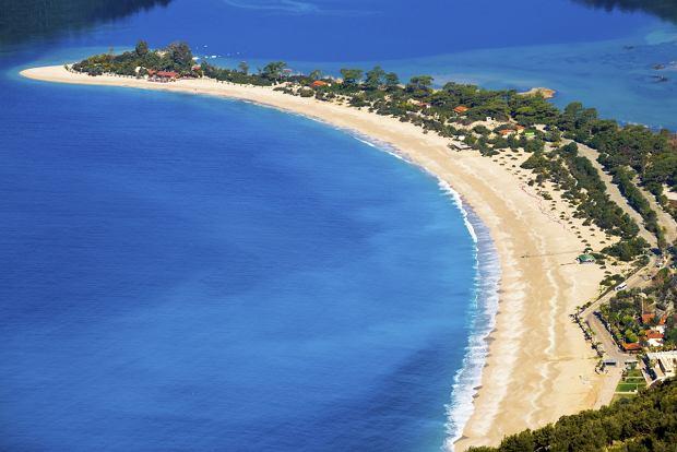 Plaża w Fethiye w Turcji