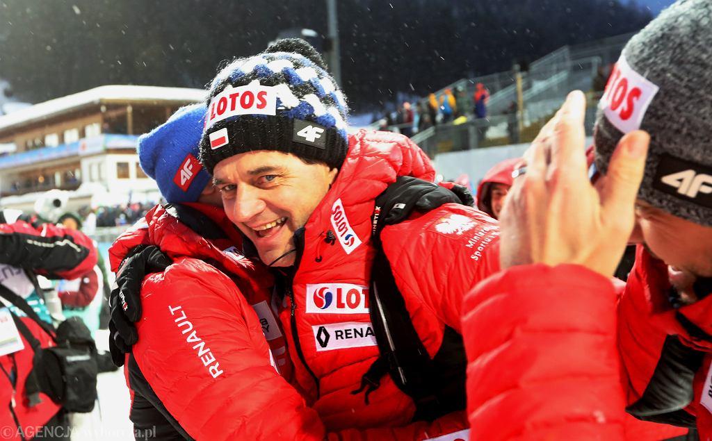 Stefan Horngacher podczas mistrzostw świata w Seefeld. Austria, 1 marca 2019