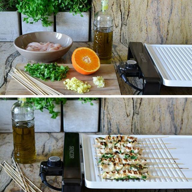 Elektryczne grille stołowe Sencor