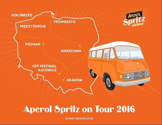 Aperol Spritz On Tour