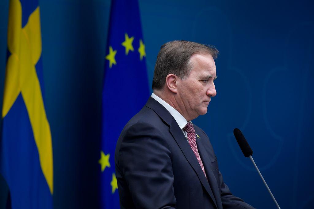 Premier Szwecji Stefan Lofven