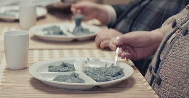 Szaro-bura papka, którą zajadają się mieszkańcy 'okrągłego' miasta, nie jest zbyt apetyczna