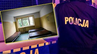 Policja i izba wytrzeźwień przy ul. Kolskiej w Warszawie, zdjęcie ilustracyjne