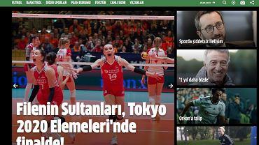 Tureckie media w euforii po zwycięstwie nad Polską