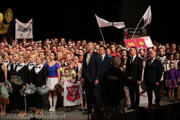 Zdjęcie numer 41 w galerii - Cheerleaderki rywalizują w Kielcach. Bo taniec nie jedną ma twarz [ZDJĘCIA]