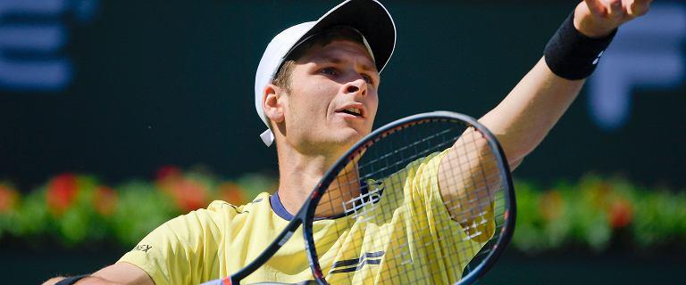 Tenis. Hubert Hurkacz najwyżej w karierze w rankingu ATP