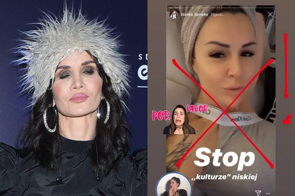 Viola Kołakowska atakuje Blankę Lipińską