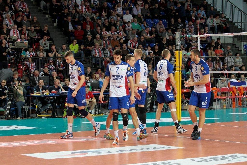 Półfinał play-off PlusLigi mocno oddalił się od zespołu z Kędzierzyna-Koźla