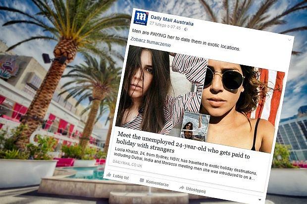 Lucia Khabzi zrobiła sobie 'wakacje życia' nie wydając przy tym prawie własnych pieniędzy