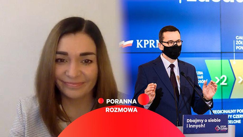 Magdalena Sroka w Porannej Rozmowie Gazeta.pl