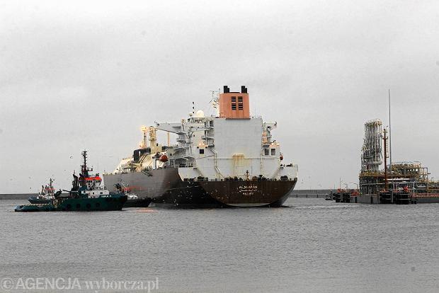 Gazoport w Świnoujściu przekazany przez wykonawcę