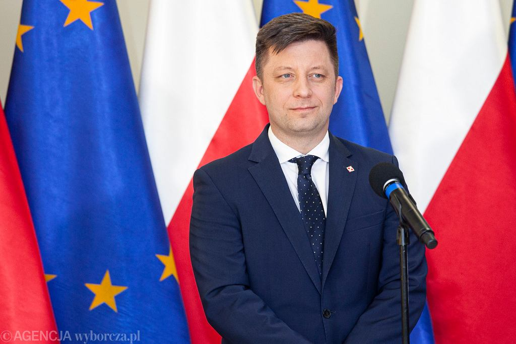 Minister Michał Dworczyk.