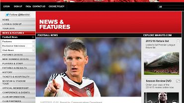 Oficjalna strona Manchesteru United