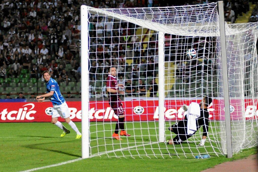 FK Sarajevo - Lech Poznań 0:2. Kasper Hamalainen trafia na 1:0