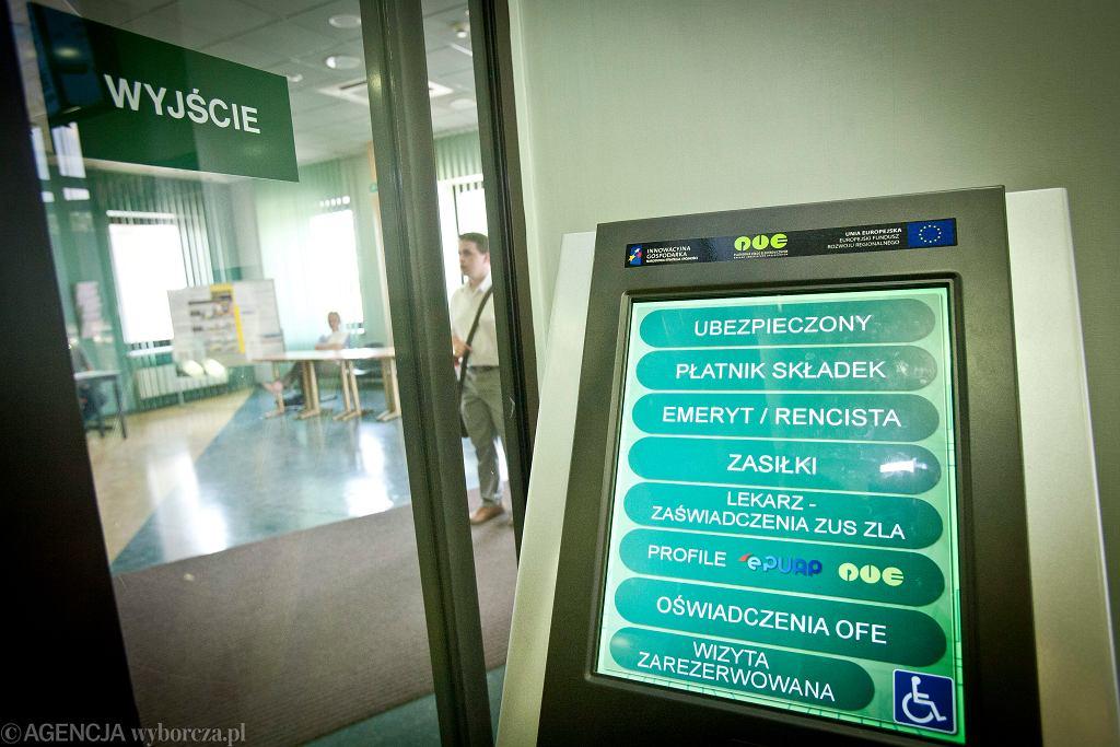 Zakład Ubezpieczeń Społecznych w Białymstoku.