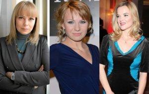 Elżbieta Bieńkowska, Anna Guzik i Monika Richardson, rodzina gwiazd