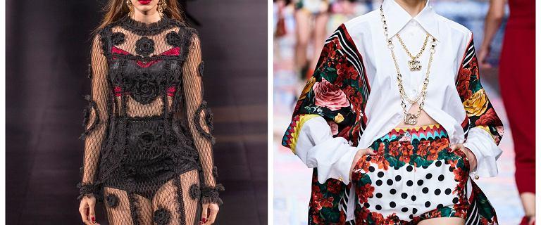 Figi z wysokim stanem jak z pokazu Versace i Dolce&Gabbana! Mamy przepiękne modele w stylu retro