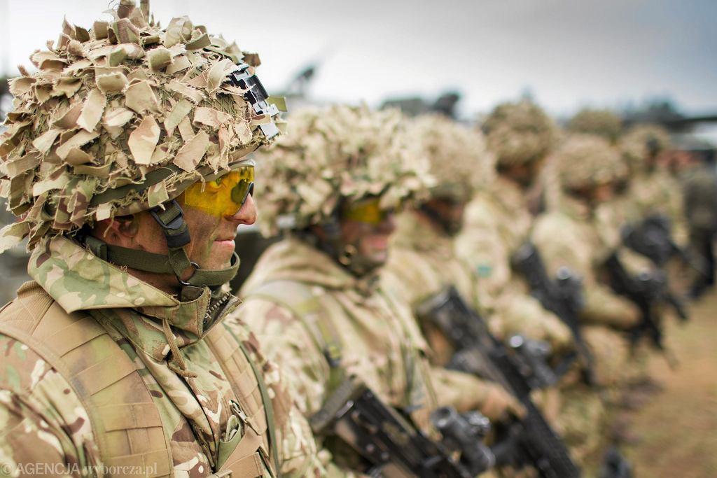 ćwiczenia wojskowe (zdjęcie ilustracyjne). Ćwiczenia Dragon - 15 koło Orzysza.