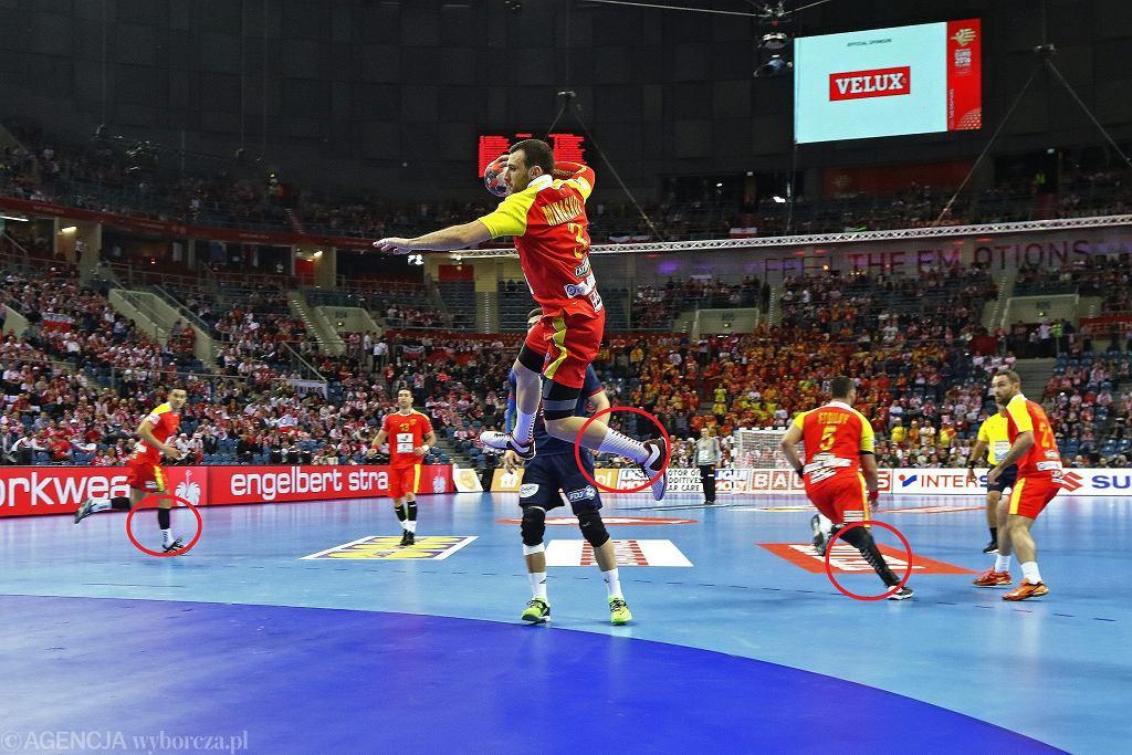 Kraków Arena. Mecz Francja - Macedonia