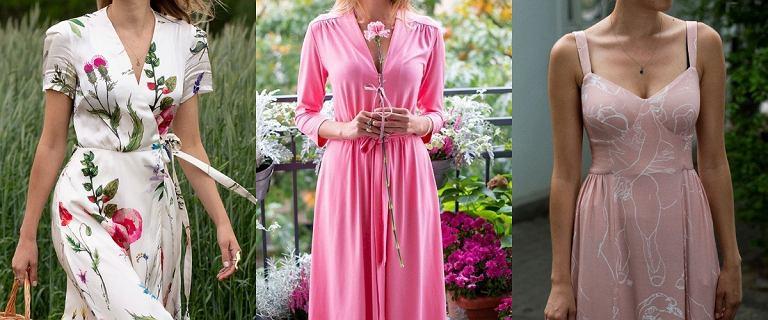 Najpiękniejsze sukienki midi na wiosnę 2021. Top 18 propozycji z kolekcji polskiej marki RISK made in Warsaw