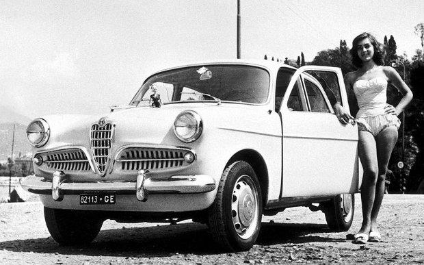 1955 Alfa Romeo Giulietta Berlina