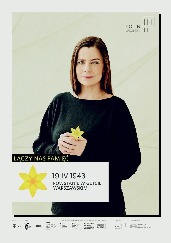 Zdjęcie numer 14 w galerii - Rocznica powstania w getcie warszawskim. Żonkil oznacza pamięć