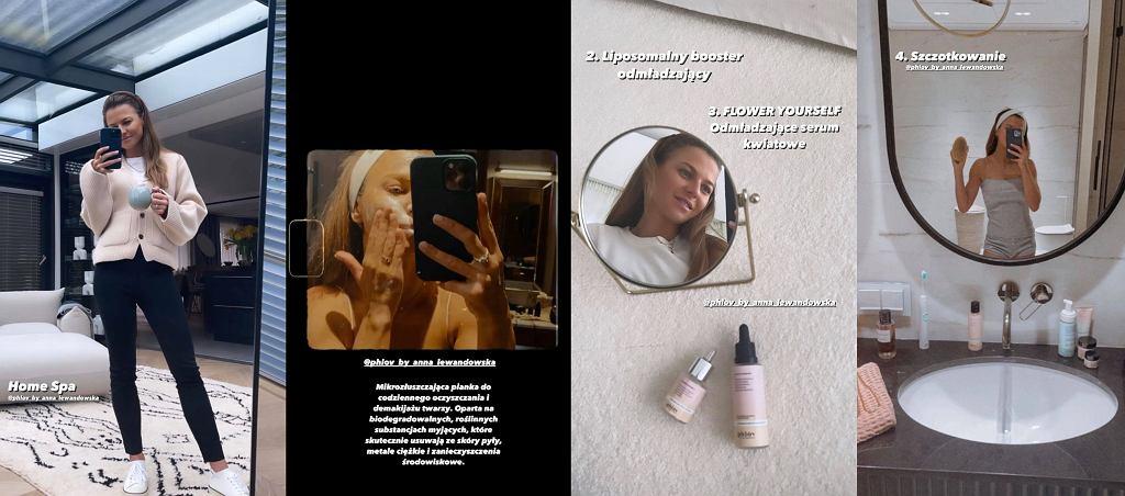 Anna Lewandowska zdradziła, co robi podczas domowego spa. Jeden z kroków to genialny sposób na cellulit