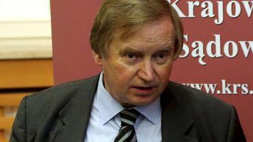 dr hab. RYSZARD PIOTROWSKI, Konstytucjonalista z Uniwersytetu Warszawskiego