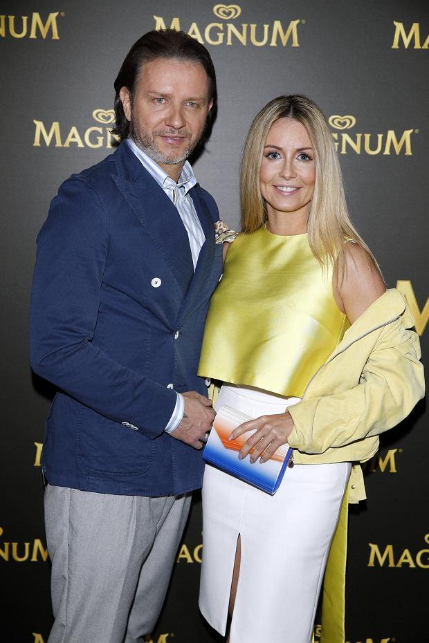 Gwiazdy na imprezie Magnum - Małgorzata Rozenek