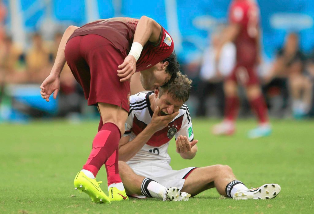 Portugalia została kompletnie rozbita, przegrała 0:4, a nie pomogła jej na pewno gra w