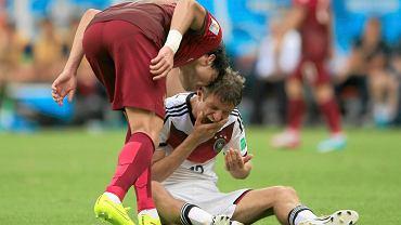 """Portugalia została kompletnie rozbita, przegrała 0:4, a nie pomogła jej na pewno gra w """"dziesiątkę"""". Pepe znów nie wytrzymał..."""