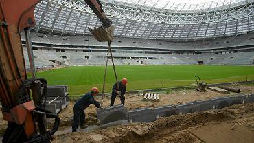 W Rosji trwa przebudowa legendarnego stadionu Łużniki, który będzie jedną z aren piłkarskich mistrzostw świata w 2018 roku. Organizatorzy pokazali postęp prac, które trwają od 2013 roku. Moskiewska arena powstała w 1956 roku, może pomieścić blisko 82 tys. widzów, gościła już finał Ligi Mistrzów i igrzyska olimpijskie.
