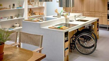 Kuchenny blat bez dolnej zabudowy