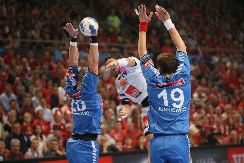 Liga Mistrzów, piłka ręczna. MKB MVM Veszprem - Orlen Wisła Płock 31:26