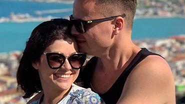 Katarzyna Cichopek z mężem