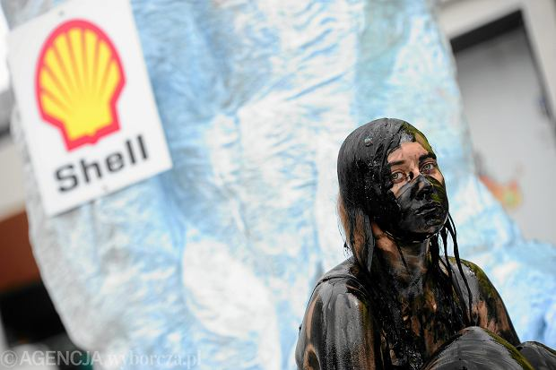 Akcja / happening Greenpeace