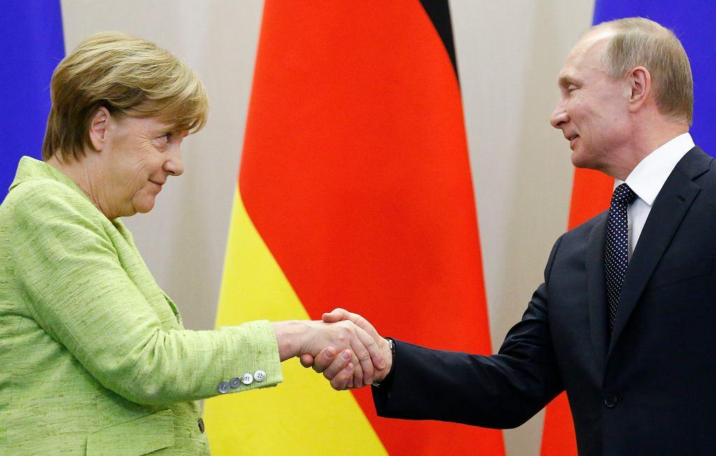 Spotkanie Angeli Merkel z Władimirem Putinem