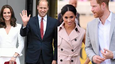 Dlaczego książę Harry nosi obrączkę, a William nie